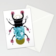 stag beetle  Stationery Cards