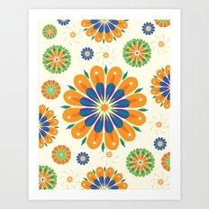 Flowersparkle Art Print