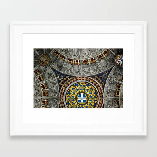 Canterbury, England Framed Art Print