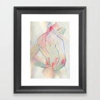 Moles. Framed Art Print