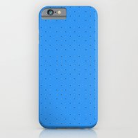 Small Dots On Blue  iPhone 6 Slim Case
