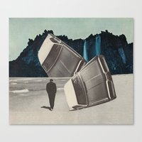 The Stuntdriver's Lament Canvas Print