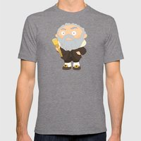 Galileo Galilei Mens Fitted Tee Tri-Grey SMALL