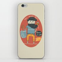 Brezel und Bier iPhone & iPod Skin