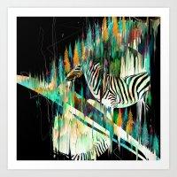 Painted Horse Art Print
