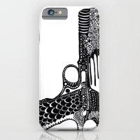 Flower Gun  iPhone 6 Slim Case