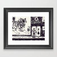 Daguerreo Framed Art Print
