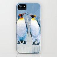 Penguin Love iPhone (5, 5s) Slim Case