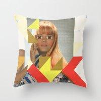 ODD 004 Throw Pillow