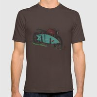 The Bike Mens Fitted Tee Brown SMALL