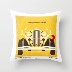 No206 My The Great Gatsby minimal movie poster Throw Pillow