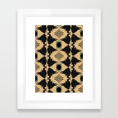 Blast Framed Art Print