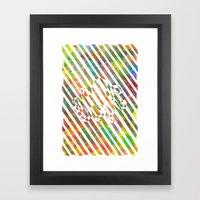 nebula 2 Framed Art Print