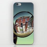 Street mirror. iPhone & iPod Skin