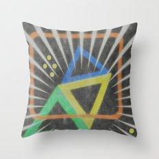 Op Ning A Jazz Singer Throw Pillow