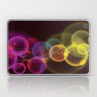 Rainbow Bubbles Design Laptop & iPad Skin