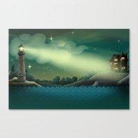Sea landscape Canvas Print