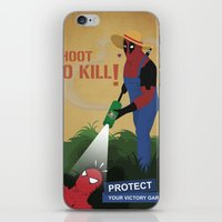 Protect your garden iPhone & iPod Skin
