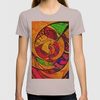 Tropical Farm 3 Womens Fitted Tee Cinder SMALL