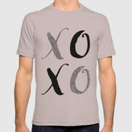 XOXO Mens Fitted Tee Cinder SMALL