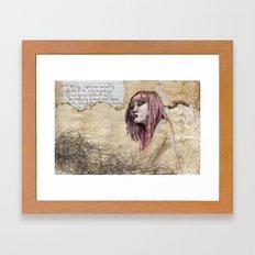 Indelicate Sensuality Framed Art Print