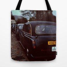 London Cab Tote Bag