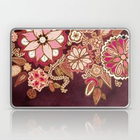 Golden Embroidery Flower… Laptop & iPad Skin