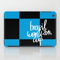 Brazil World Cup 2014 - Poster n°7 iPad Case