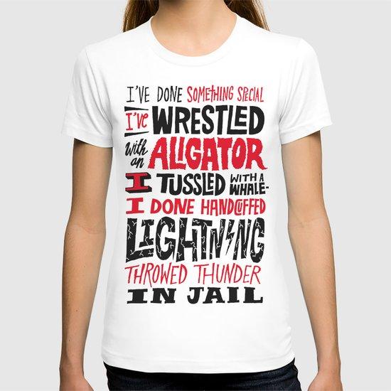 Muhammad Ali: Aligator T-shirt
