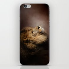 The Mighty Lion iPhone & iPod Skin