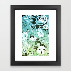 Vintage Flowers XL - for iphone Framed Art Print