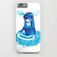 iPhone & iPod Case featuring Baby Blue #4 by Natsuki Otani