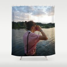 Sea Lady, See!—photo of wonderment Shower Curtain