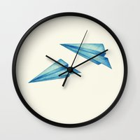 High Flyer   Origami   Simplified Wall Clock