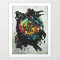 Circle Of Life Surreal S… Art Print