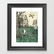 'Overgrown' Framed Art Print