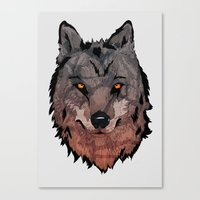 Wolf Mother Canvas Print