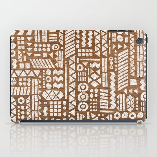 Northwoods Pattern. iPad Case