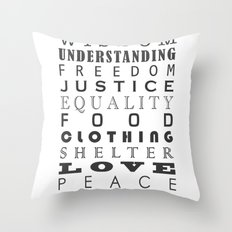 The Jewels Of Life Throw Pillow