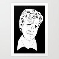 Crying Icon #1 - Dawson … Art Print