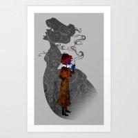 Consulting Detective Dar… Art Print