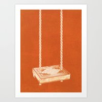 For the Love of Books Art Print