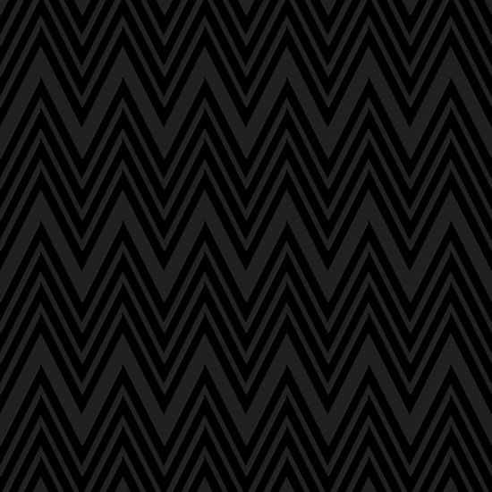 Black on Black Chevrons Art Print
