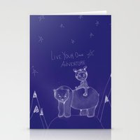 Live Your Own Adventure Stationery Cards