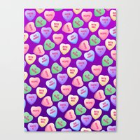 Bitter Sweets Canvas Print
