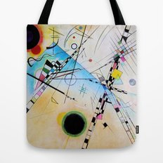 Kandinsky Reimagined  Tote Bag