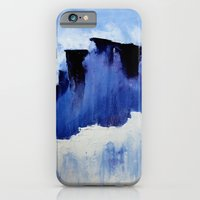 iPhone & iPod Case featuring Cold Blue by sarah mah