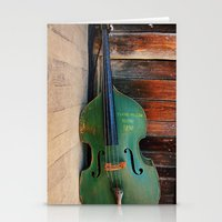 Double Bass Stationery Cards