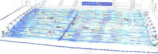 Swimming Pool 01 Art Print