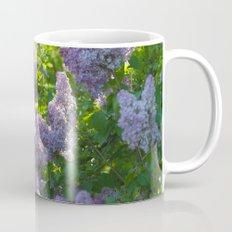 Summer lilac nature pattern Mug